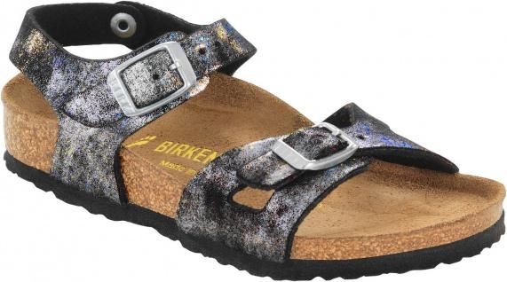 Birkenstock Sandale schwarz Fersenriemen Rio Kinder stardust schwarz Sandale BF Gr. 24 - 39 831283 793944