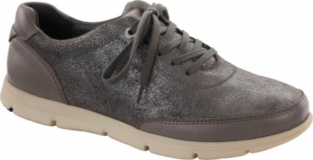 Birkenstock Shoes Halbschuh Manitoba Mischleder metallic plutone Gr. 36 - 42 556153
