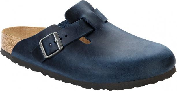 Birkenstock Clog Boston Leder insignia blue Gr. 35 - 46 - 459071