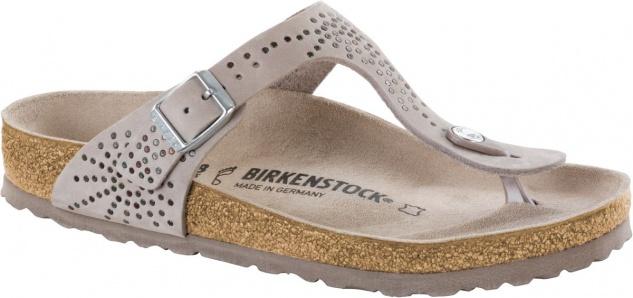 Birkenstock Gizeh Zehensteg Sandale avario Nubukleder Gr. 35 - 43 - 1009758
