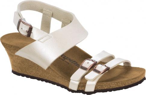Papillio Pantolette Ellen pearl white 1005065