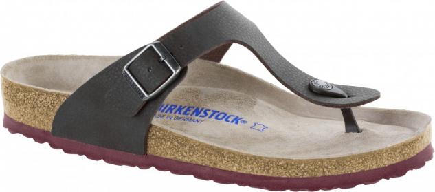 Birkenstock Zehensteg Sandale Gizeh BS desert soil espresso - Gr. 39 - 46 - 1009960