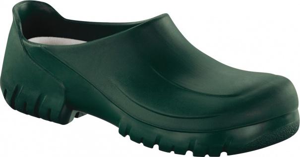 Birkenstock Professional Clog A640 mit Stahlkappe grün 020262