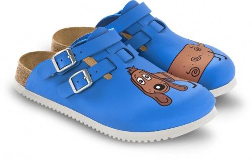 BIRKENSTOCK Professional Clog Kay dog blue SUPERLAUF 582536