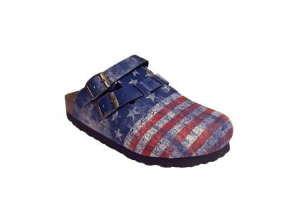 BIRKENSTOCK Professional Clog Kay flag stars and stripes Gr. 26 - 42 936343