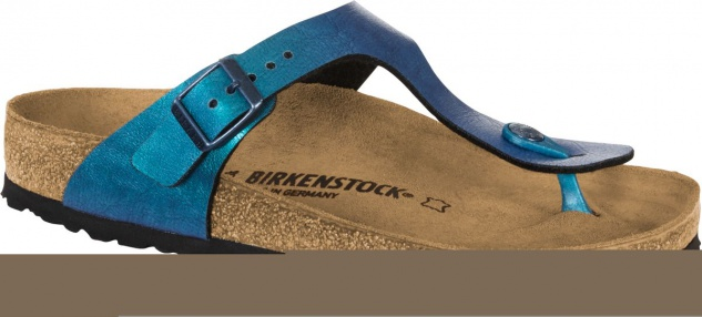Birkenstock Zehensteg Sandale Gizeh BF graceful gemm blue Gr. 35 - 43 - 1012400
