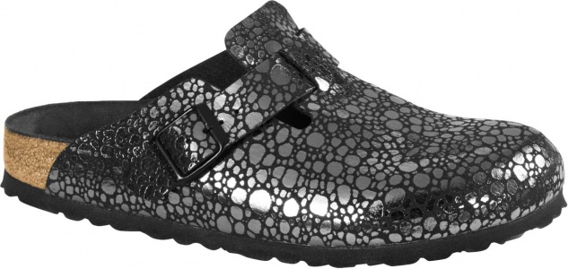 Birkenstock Clog Boston BF metallic stones black BF Gr. 35 - 43 1012243