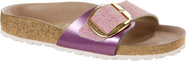 Birkenstock Pantolette Madrid Big Buckle ceramic pattern rose NL Gr. 35 - 43 1009035