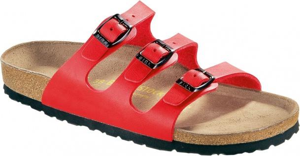 BIRKENSTOCK Pantolette Sandale - Florida kirsch Gr. 35 - Sandale 43 054741 + 054743 f544ac