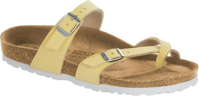 Birkenstock Mayari Zehensteg Sandale brushed vanilla Gr. 35 - 43 - 1012816