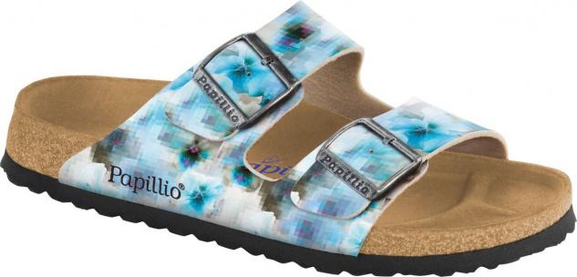 Papillio Pantolette Sandale Arizona BF pixel blue Gr. 35 - 43 1005924 - Vorschau