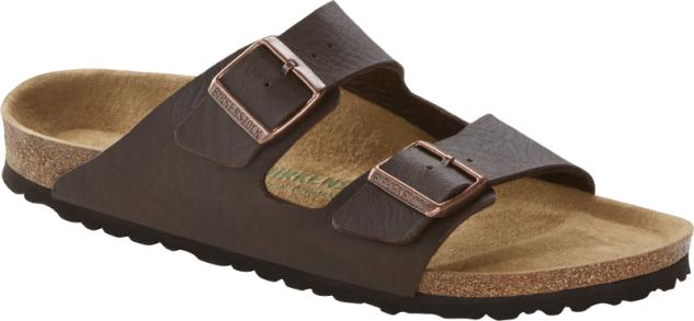 Birkenstock Pantolette Arizona saddle matt brown 1015526