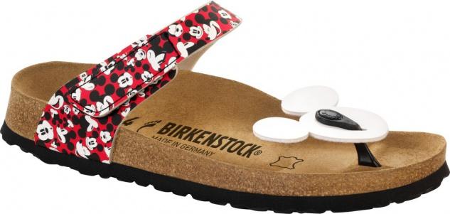 Birkenstock Zehensteg Sandale Tofino BF Mickey funny mickey heads red Gr. 35 - 42 - 103801 Beliebte Schuhe