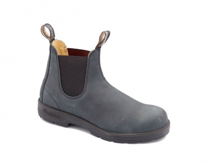 Blundstone Stiefelette grau Leder Gr. 35 - 48 587