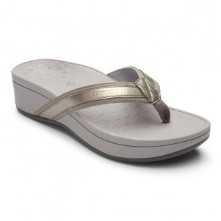 Vionic Zehensteg Sandale - Hightide pewter Gr. 36 - Sandale 42 - 10000354 e3c30a