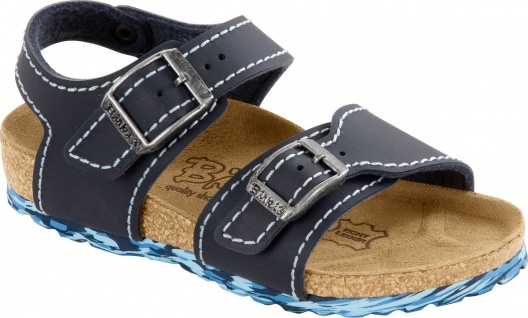 Birkenstock Sandale New York neoprene blue 187213