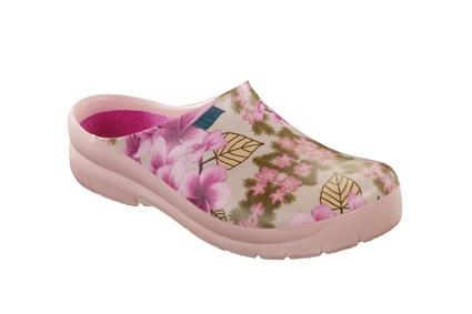 ALSA jolly BIRKENSTOCK Birki Gartenschuh Clog flowers pink Gr. 35 41 072020