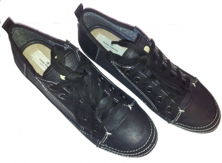 Tom Tailor Sneaker, schwarz Modell Maine