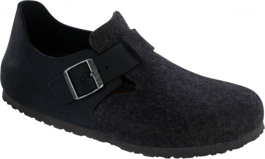 BIRKENSTOCK Shoes Halbschuh London schwarz/anthrazit 366343