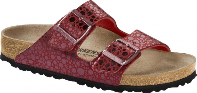 Birkenstock Pantolette Arizona metallic stones port 1014369