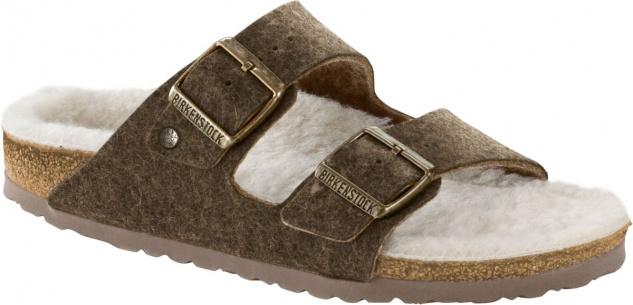 BIRKENSTOCK Arizona doubleface khaki Wolle 1012431+ 1012432