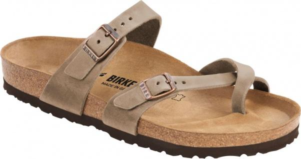 Birkenstock Mayari waxy leather tabacco brown 1011433