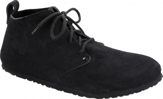 BIRKENSTOCK Boots Dundee black/schwarz Velours Gr.35 - 46 692831 + 692833