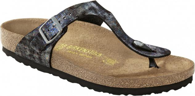 Birkenstock Zehensteg Sandale Gizeh stardust black BF Gr. 35 - 43 745611 + 745613