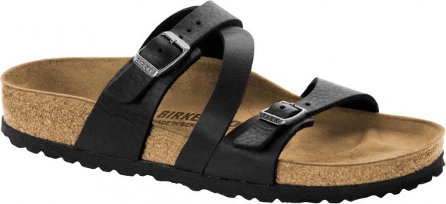 BIRKENSTOCK Pantolette Sandale Salina camberra old black NL Gr. 35 - 43 1009612