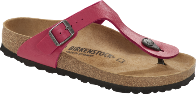 Birkenstock Zehensteg Sandale Gizeh graceful raspberry 1016414