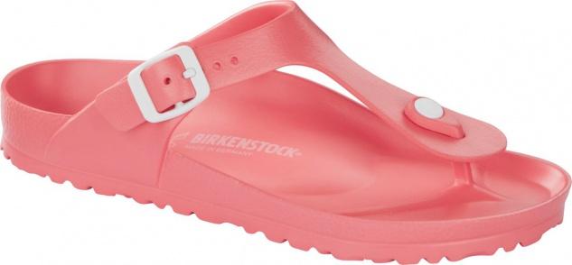 Birkenstock Pantolette Badeschuh Gizeh soft coral EVA Gr. 36 - 41 1009207