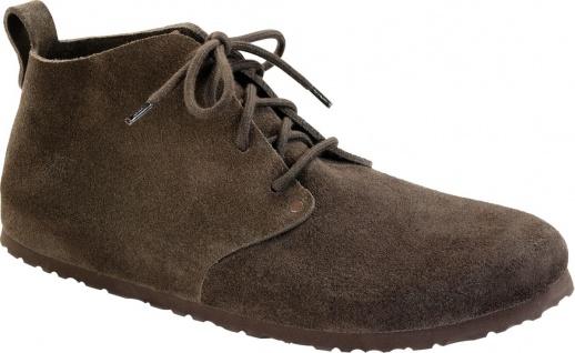 BIRKENSTOCK Boots Dundee mocca/braun Velours Gr.35 - 46 692821 + 692823