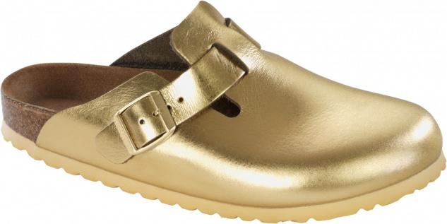 Birkenstock Clog Boston NL Metallic Gold Gr. 35 - 43 - 259613
