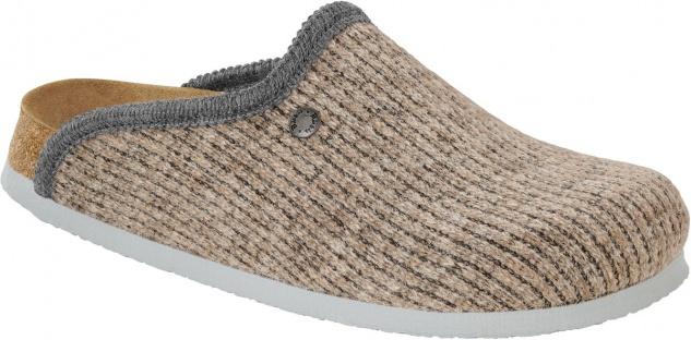 BIRKENSTOCK Clog Amsterdam wool knit beige 517163