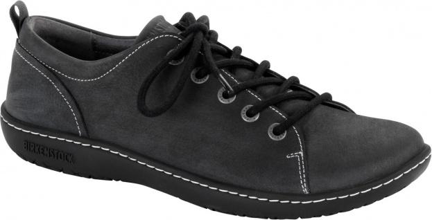 Birkenstock Shoes Halbschuh Islay alphalt Naturleder Nubuk 1007035