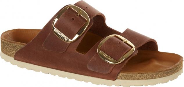Birkenstock Pantolette Arizona antique brown waxy leather Gr. 35 - 43 1011073