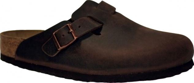 Birkenstock Clog Boston waxy leather habana Gr. 35 - 46 - 159711