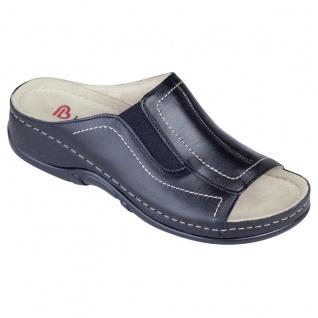 Berkemann Pantolette schwarz Kalbsleder Gr. 3 - 8, 5 01105-926 - Vorschau