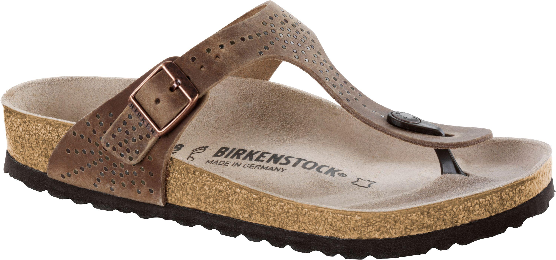 Birkenstock Gizeh Silber Gr 35