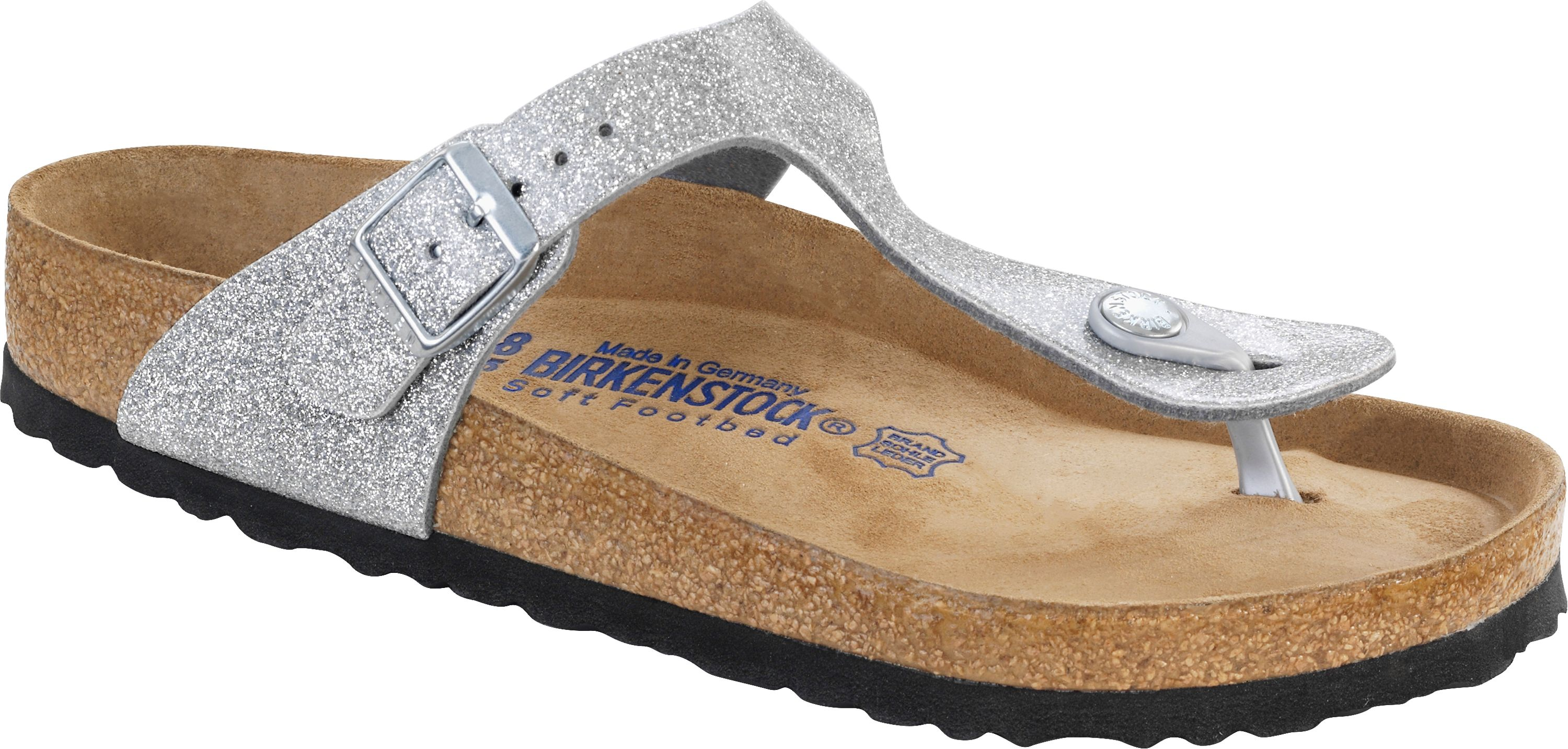Birkenstock Zehensteg Sandale Gizeh BF WB Magic Galaxy Silver Gr. 35 43 847461 + 847463