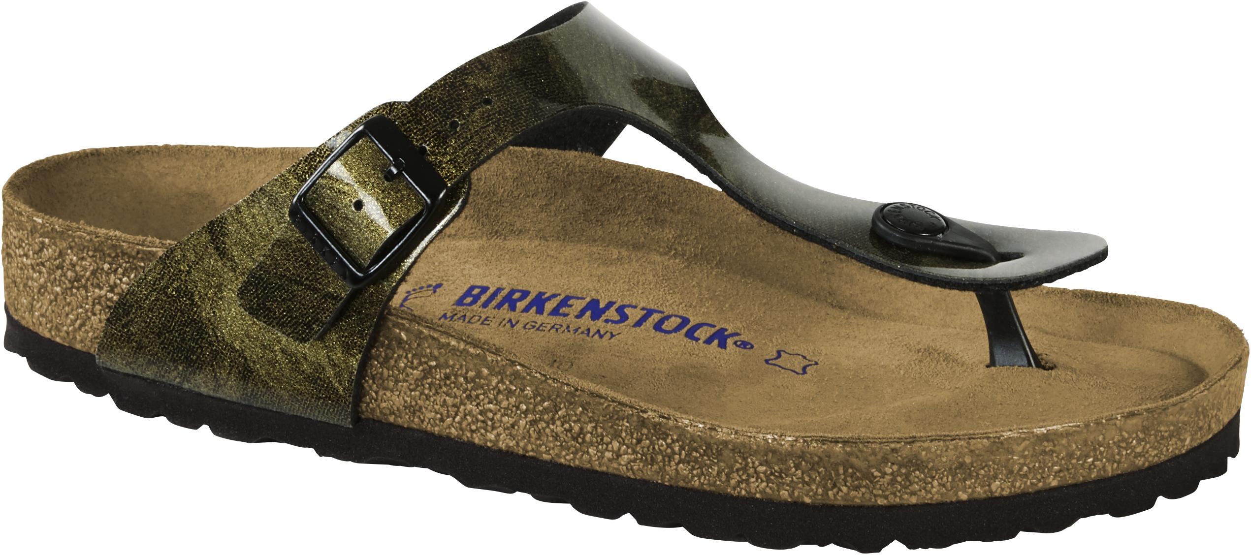 Birkenstock Zehensteg Sandale Gizeh BF iride strong gold Gr. 35 43 1011156