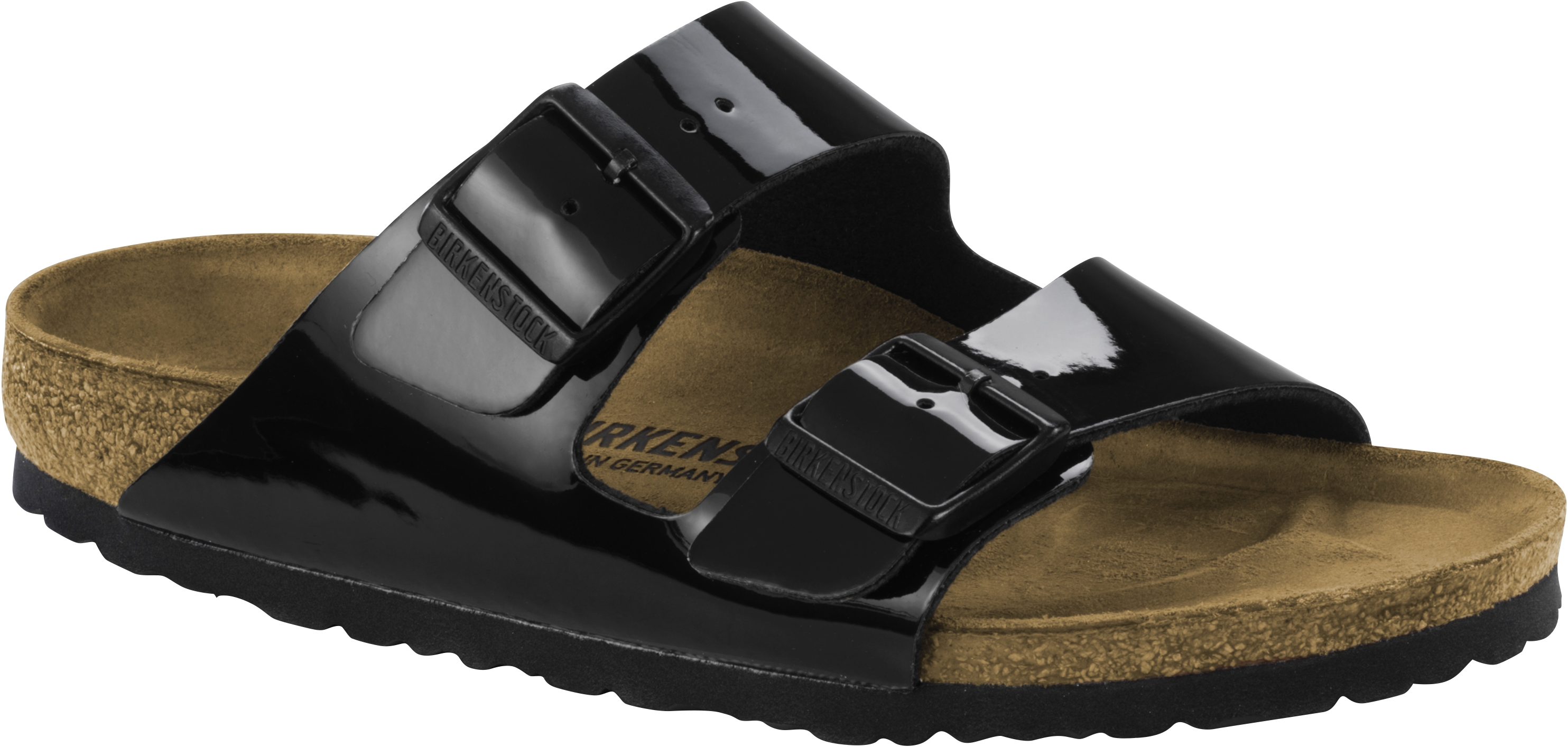Birkenstock Pantolette Arizona schwarz lack BF Gr. 35 43 1005292