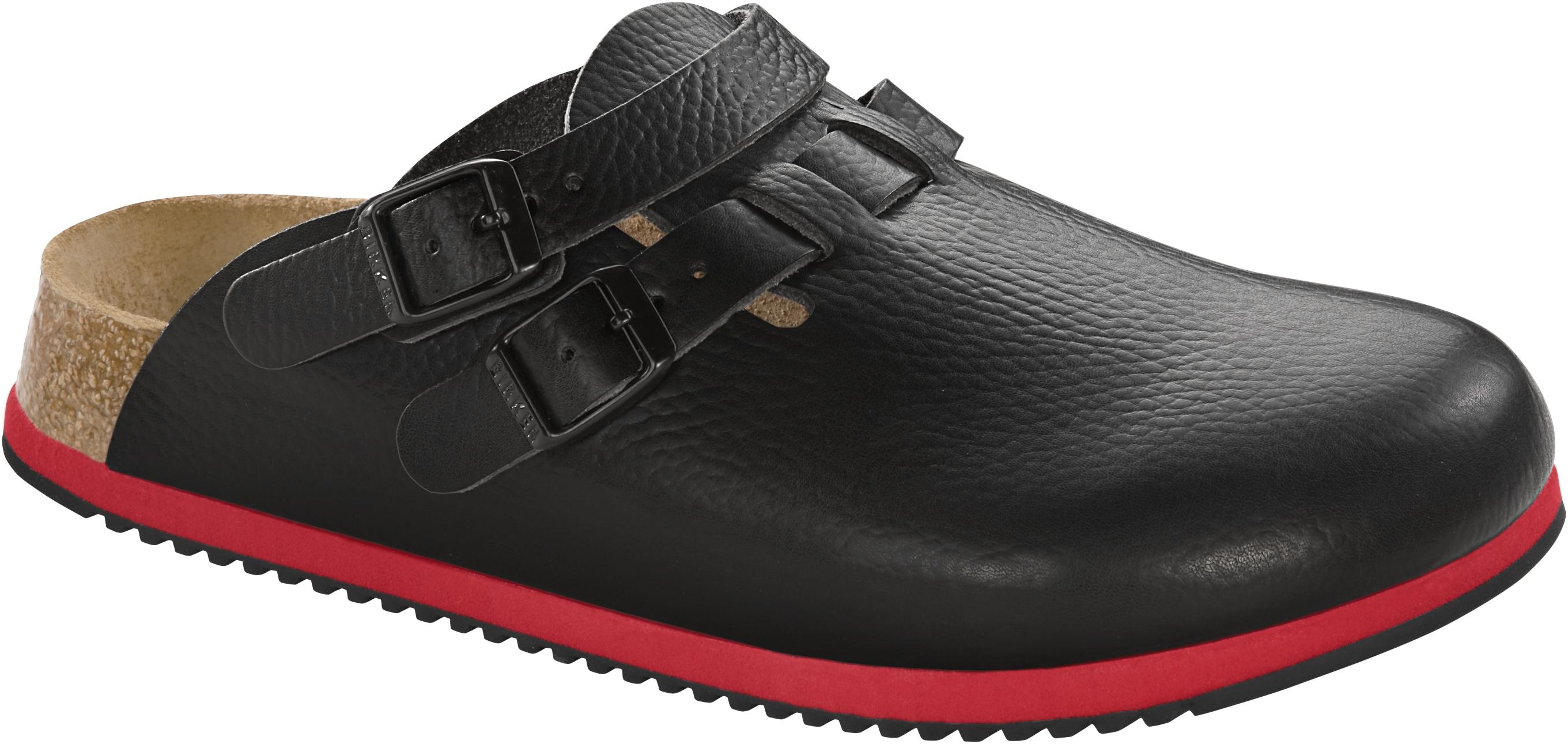 Birkenstock Professional Clog Kay Sl Black Sl Leder Gr. 35 46 582636 + 582634