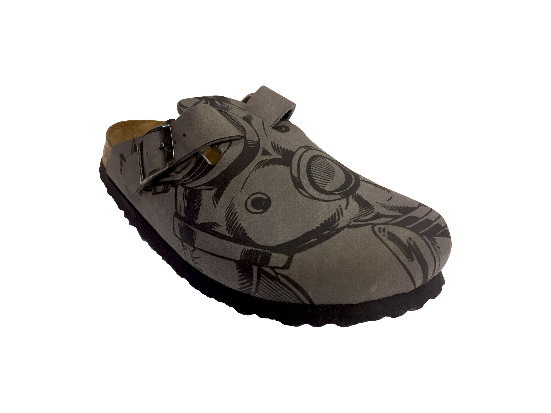 designer fashion 5b57c 6b28d Birkis Clog Woodby BF Gr. 35 - 46 ironman line art 115973