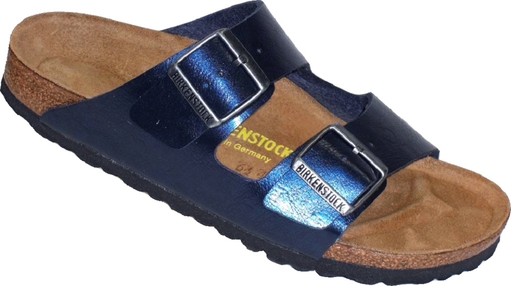 0a875279c52ccb Birkenstock Pantolette Arizona WB BF Graceful Insignia Blue Gr. 35 - 43 -  752963