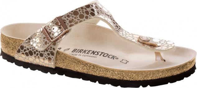 Birkenstock Gizeh Zehensteg Sandale Metallic stones copper Gr. 35 - 43 - 1005674