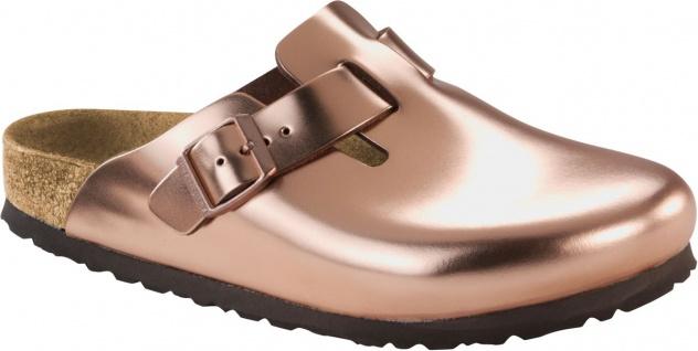 Birkenstock Clog Boston metallic copper BF Gr. 35 - 43 1001384