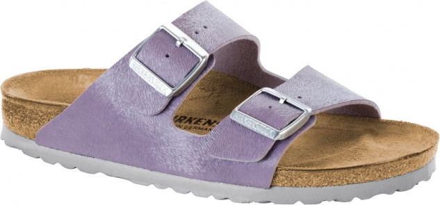 BIRKENSTOCK Pantolette Arizona animal fascination purple Gr. 35-43 1008692
