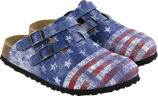 Birkenstock Professional Clog Kay flag stars and stripes Gr. 26 - 34 - 936343K