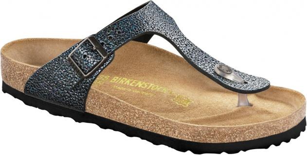 Birkenstock Zehensteg Gizeh Gr. NU pebbles metallic asphalt Gr. Gizeh 35 - 43 - 745301 fb487c